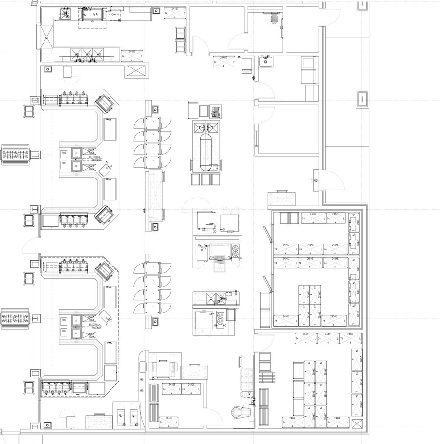 Industrial Kitchen Layout Plan: Professionally Designed Commercial