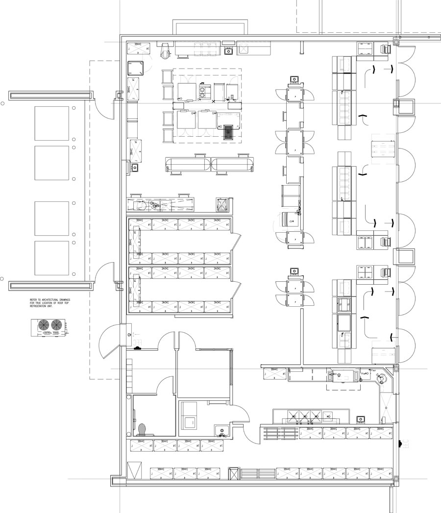 Sample Kitchen Floor Plans: Professionally Designed Commercial