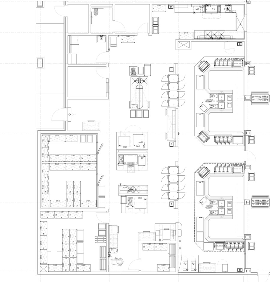 Kitchen Layout Notes: Professionally Designed Commercial
