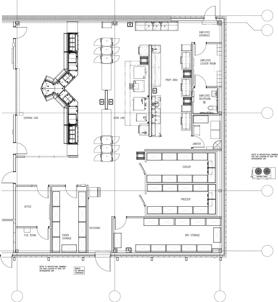 Commercial Kitchen Plan